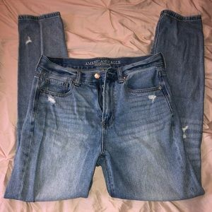 American Eagle high waisted mom jeans